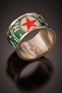 Nick Grant Barnes - riveted - ring - workshop sample