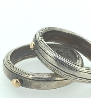 Mokume bands