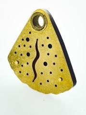Pierced pendent