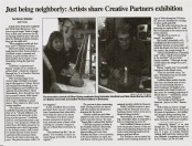 Creative Partners article - Gazette