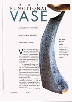 Functional Vase American Style - 1998