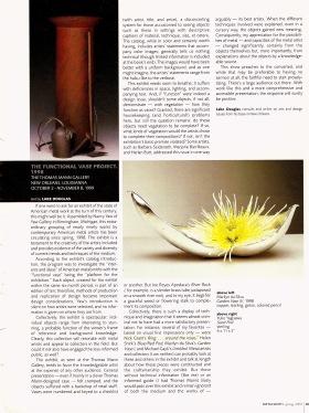 Functional Vase article - 2000