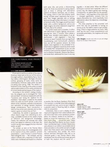 Functional Vase article - 2000