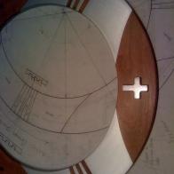 Good Shepherd Church Alms Bowl - detail